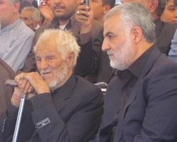 مراسم ترحیم پدر سردار سلیمانی در تهران برگزار میشود