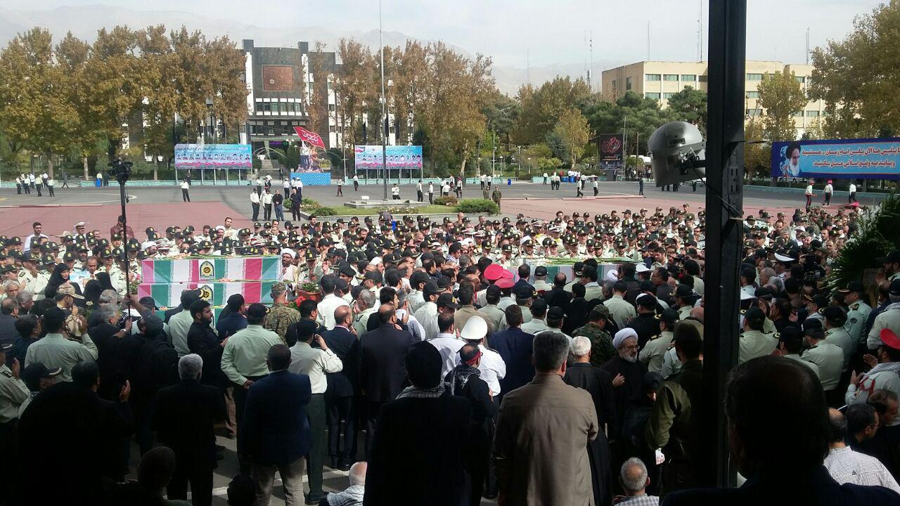 دفاع از امنیت کشور وظیفه امروز نیروی انتظامی
