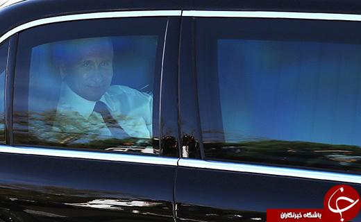 از راز تیم حفاظتی رئیس جمهور روسیه تا خودروی ضد موشک وی در تهران! + تصاویر