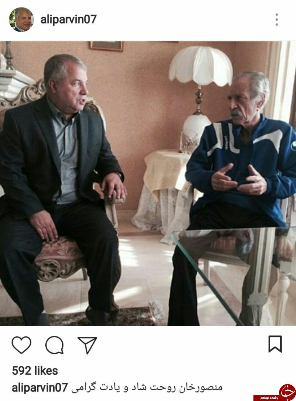 واکنش سلطان به سالگرد درگذشت منصور پورحیدری + عکس