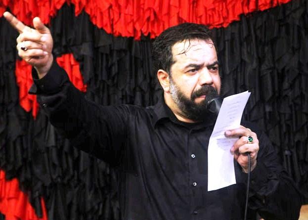 دانلود مداحي حسين من بيا و اين دل شکسته را بخر با صداي محمود کريمي