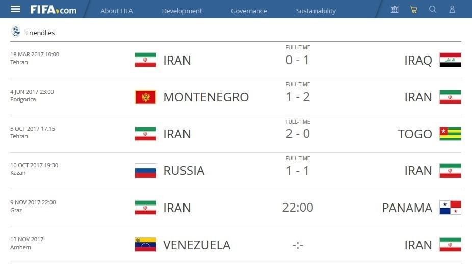 برنامه دیدارهای دوستانه تیم ملی ایران مشخص شد+عکس