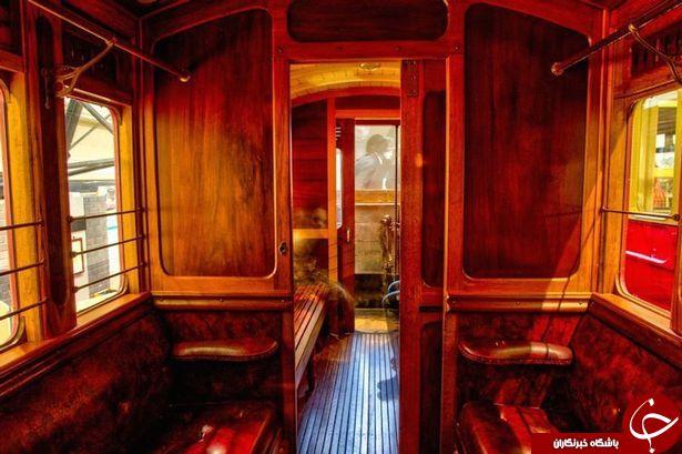 اشباح، مسافران نامرئی قطار متروکه +  تصاویر
