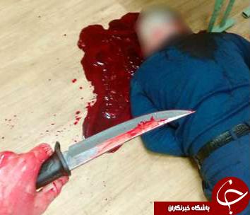 رقص چاقوی نهنگ آبی با صدای اره برقی کلاس درس را به خون کشید+تصاویر