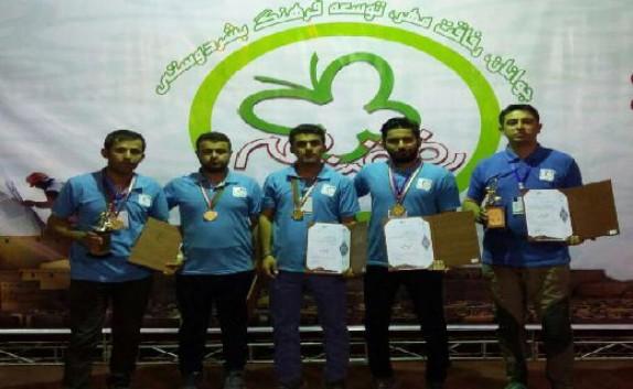 باشگاه خبرنگاران - تیم جمعیت هلال احمر مهاباد قهرمان مسابقات امدادی رفاقت کشور