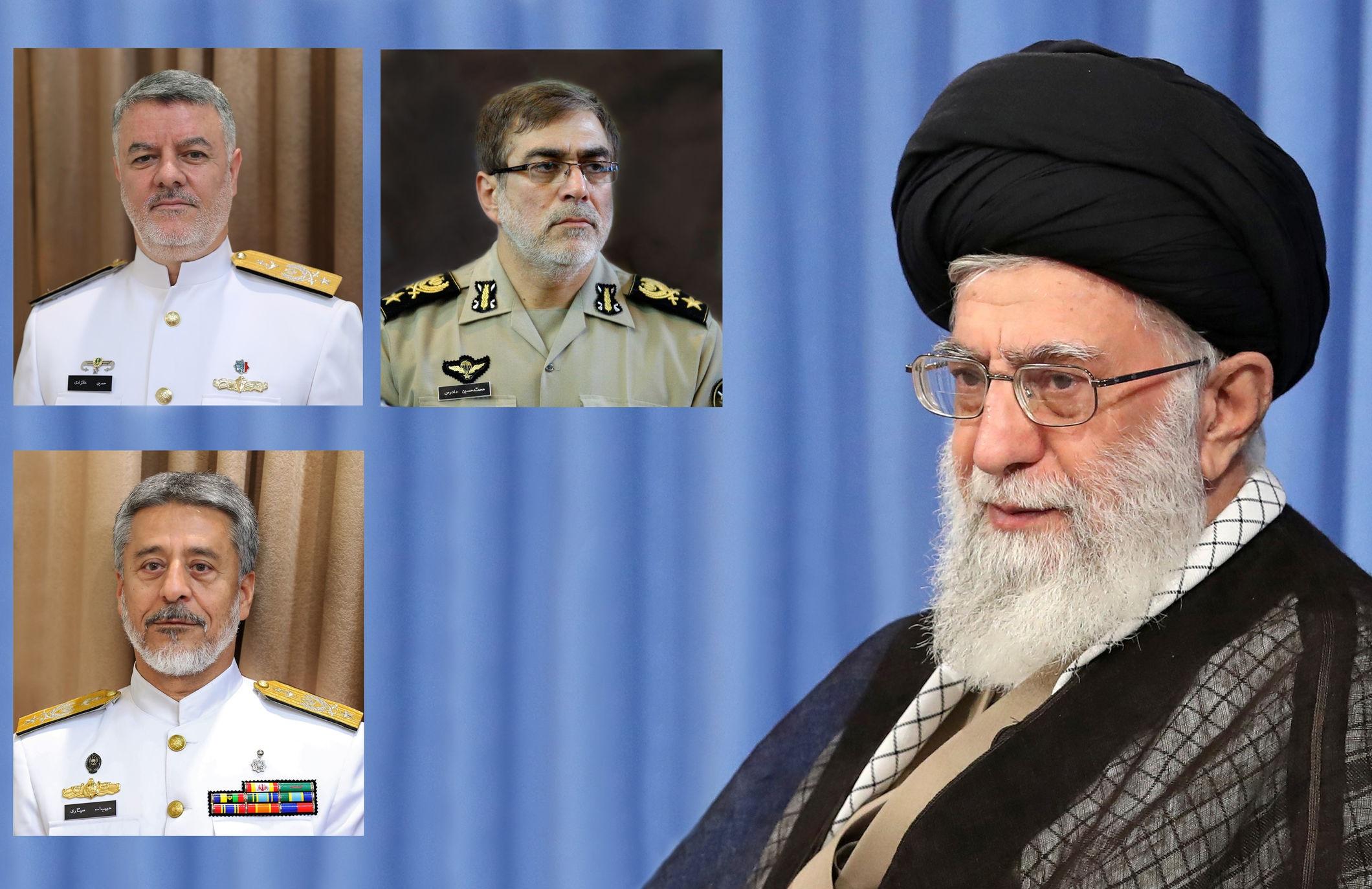 سه انتصاب جدید در ارتش جمهوری اسلامی ایران