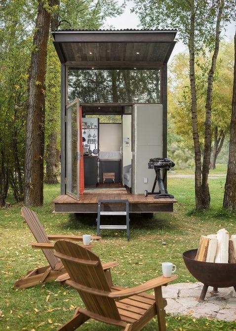 1-خانهای کوچک و قابل ساخت در نقطهای از طبیعت که میخواهید+ تصاویر2-خانهای مخصوص و فوق پیشرفته برای طبیعت گردی زوجهای جوان+تصاویر