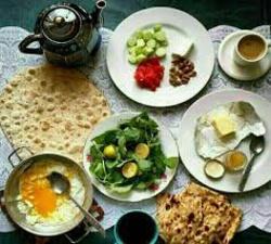 شام زود بخورید تا برای صبحانه اشتها داشته باشید