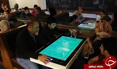 اولین رستوران رباتیک ایران