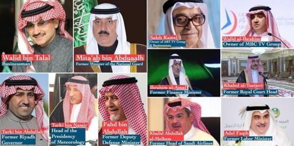 تمام شاهزادگان سعودی بازداشتشده به اختلاس و فساد مالی متهم شدهاند