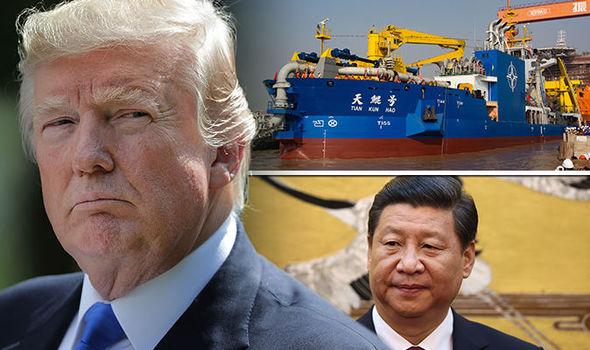 چین از کشتی ویژه ساخت جزایر مصنوعی رونمایی کرد