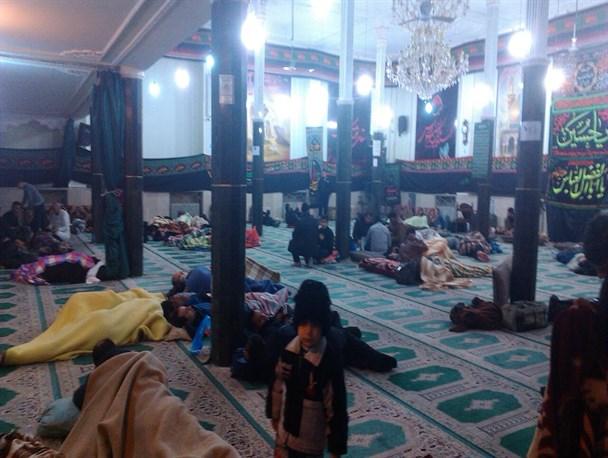 خدمات دهی50 کانون مسجد به زائران اربعین
