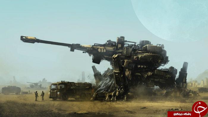 تانک های مخوف آینده چه شکلی خواهند داشت؟
