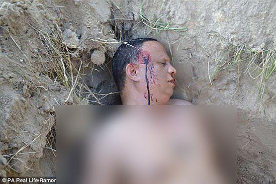 مردی تصاویر تکان دهنده جنازه اش را برای همسرش فرستاد!+تصاویر