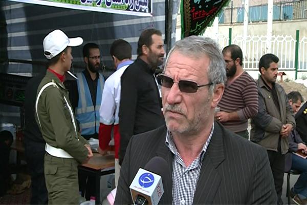 برپایی موکب زینبیون منتظر در پلیس راه اردبیل سراب