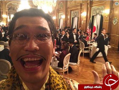 ملاقات ترامپ با عجیبترین مرد ژاپن +تصاویر
