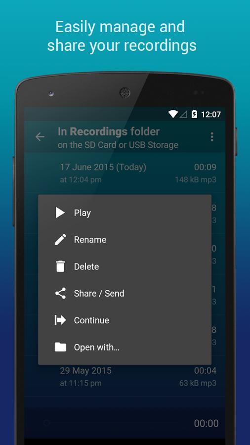 دانلود Hi-Q MP3 Voice Recorder Pro 2.3-b5 - برنامه ضبط صدا با کیفیت بالا