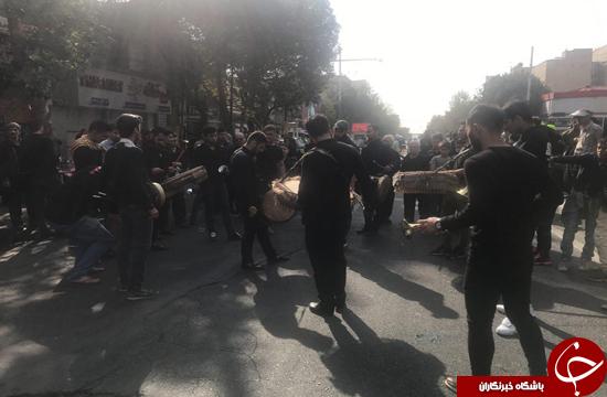 پیاده روی جاماندگان اربعین حسینی(ع) در تهران برگزار شد