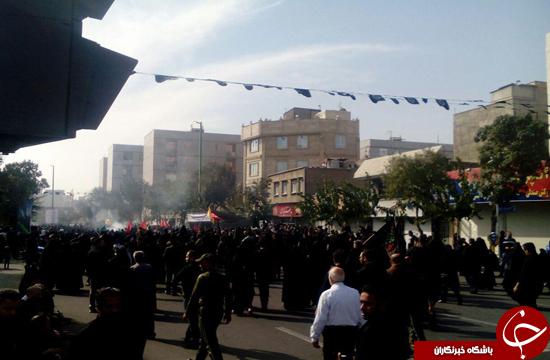 پیاده روی جاماندگان اربعین حسینی(ع) در تهران برگزار شد+ تصاویر