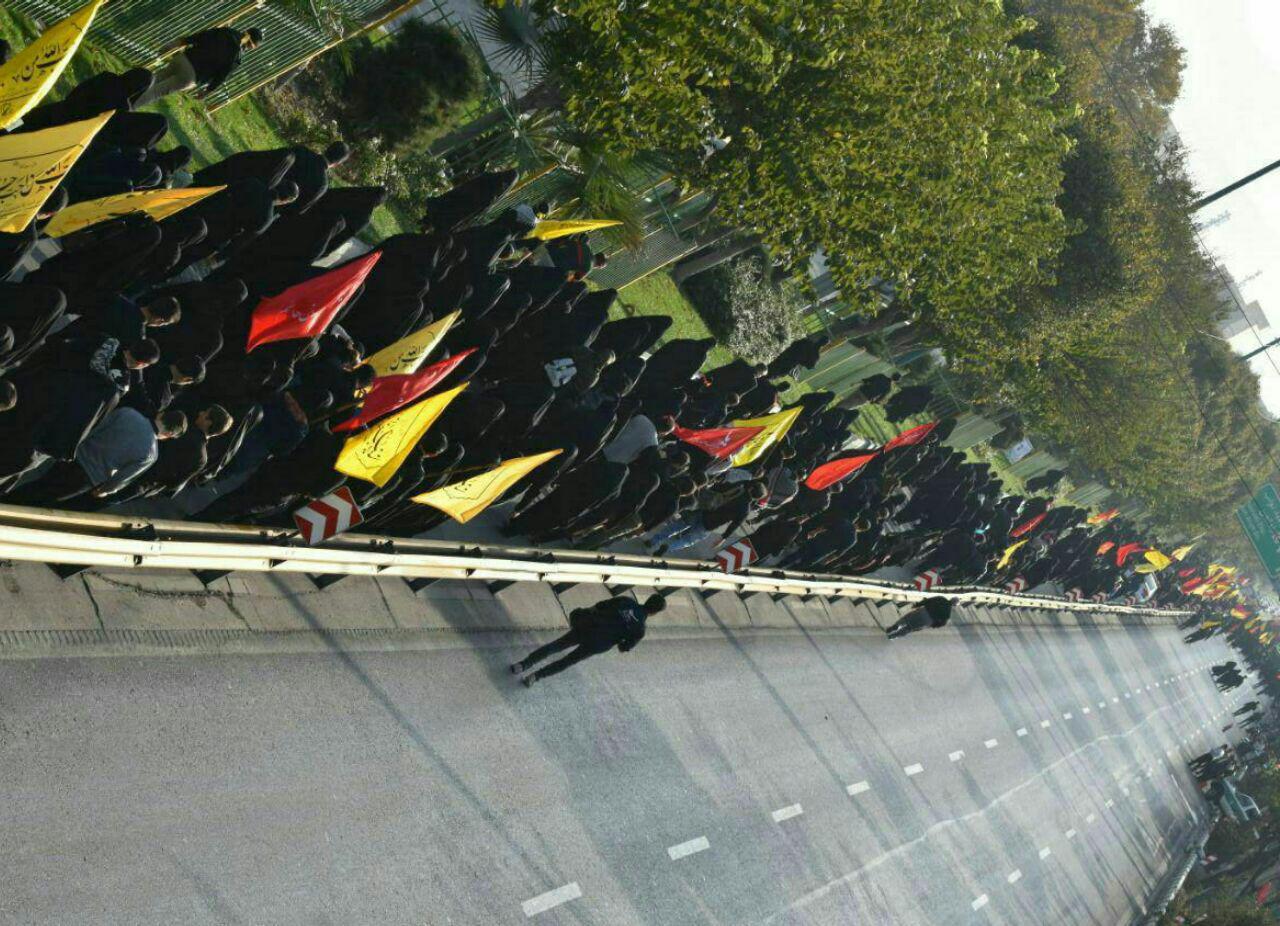 قبله تهران امروز میزبان جاماندگان اربعین بود