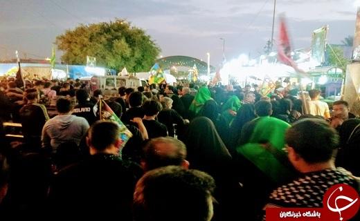 یادواره ۴ هزار شهید گلستانی در کربلا +تصاویر