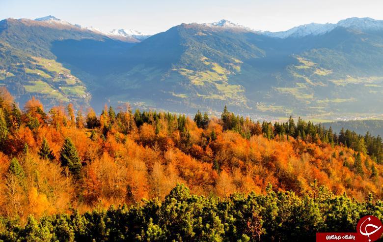 تصاویر زیبایی از پاییز در کشورهای مختلف