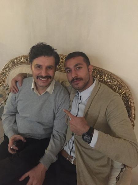 فوتبالیست مشهور بازیگر شد+ تصاویر