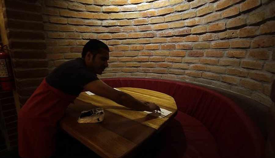 رستورانی که در آن غذایتان را نمی بینید