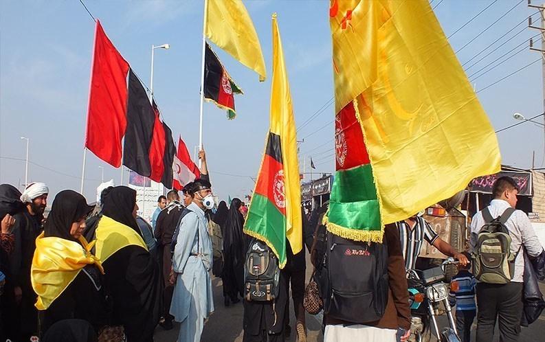 شور و شوق زوار افغانستانی در کربلای معلی + تصاویر