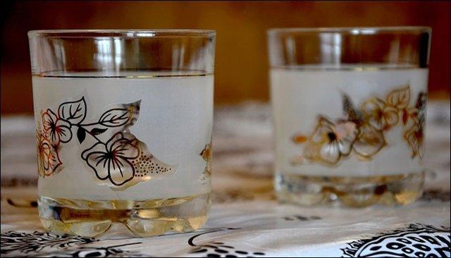 چرا نباید از ظروف شیشه ای تزئین شده استفاده کرد؟
