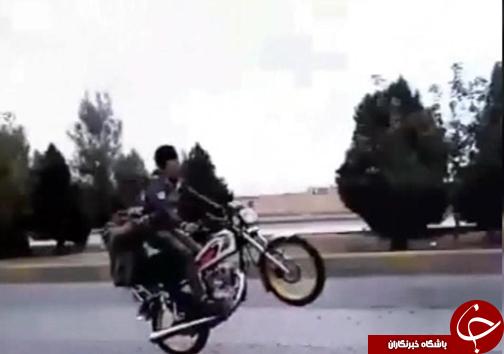 آمار ۳۰ درصدی اتفاقات منتج به مرگ موتورسواران / جریمه و توقیف موتورسیکلت اشخاص خاطی + تصاویر