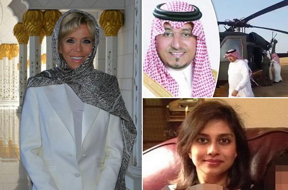 از عمدی بودن سقوط بالگرد شاهزاده سعودی تا خاطرات عروس انگلیسی داعش و حجاب بانوی اول فرانسه در مسجد ابوظبی+ تصاویر