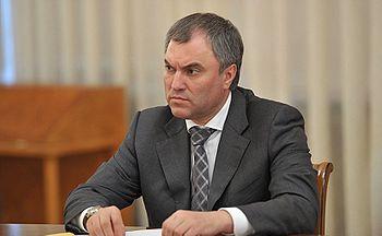 رییس مجلس دومای روسیه: رسانههای آمریکایی به دنبال تضعیف نظام سیاسی ما هستند