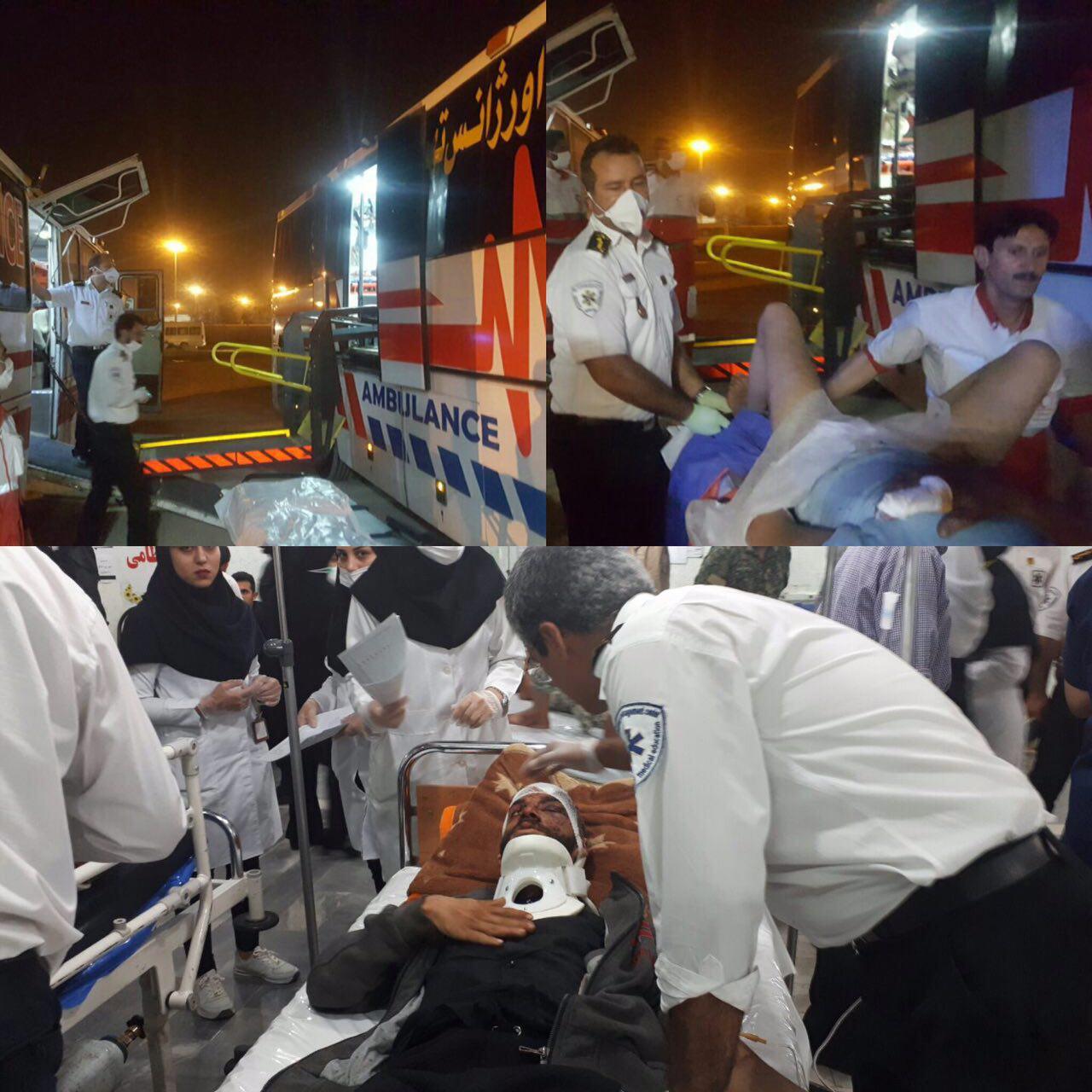 مصدومیت ۷ زائر در تصادف ۲ خودرو ون بعد از حله عراق به سمت مهران+اسامی