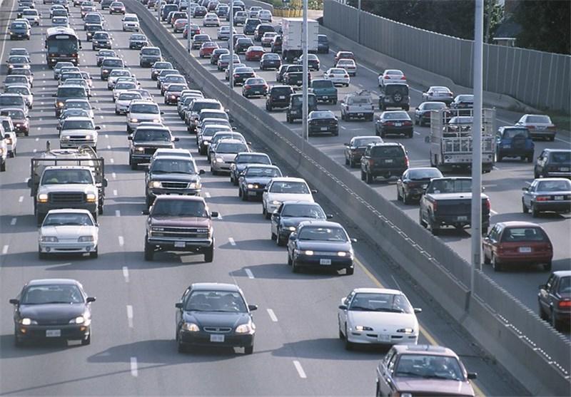 ترافیک در برخی محورهای استان زنجان پرحجم است