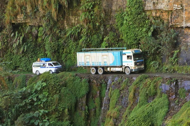 جاده مرگ کجاست؟+تصاویر