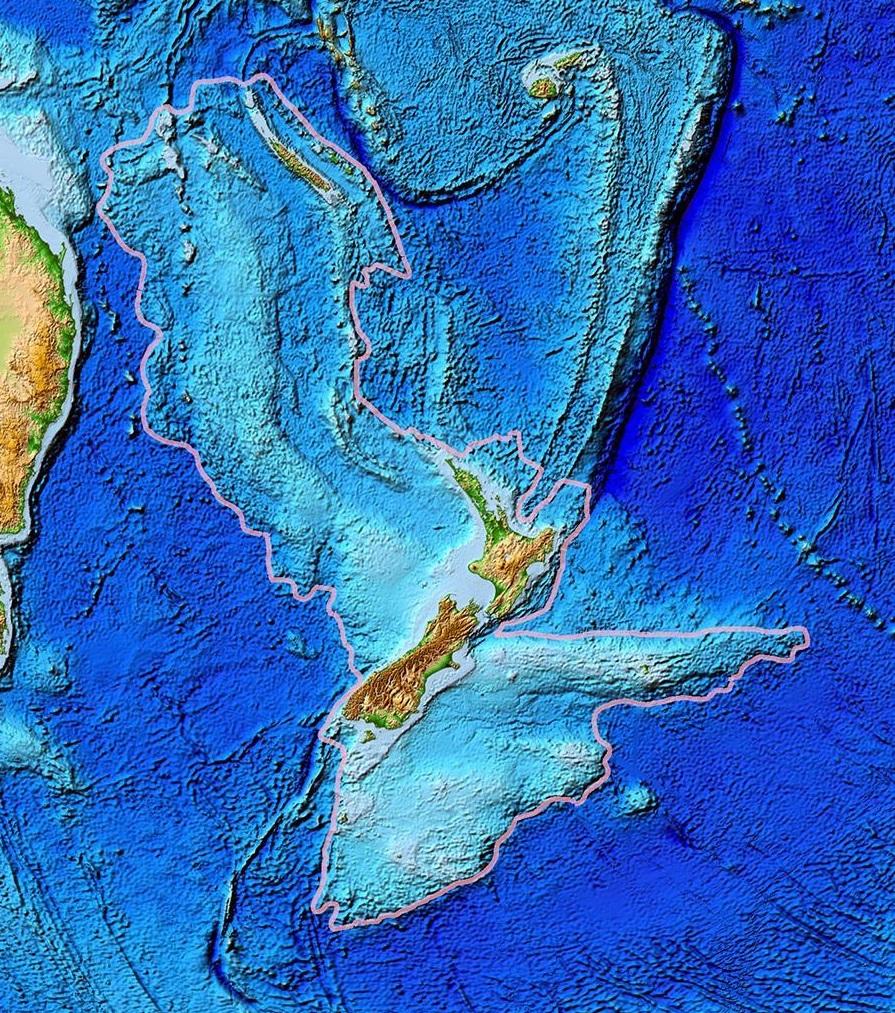 قاره ای گمشده زیر اقیانوس آرام