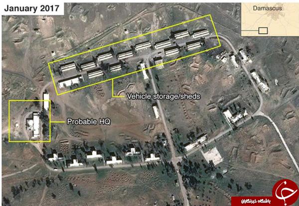 ادعای یک منبع اطلاعاتی غربی: ایران در حال ساخت یک پایگاه نظامی دائم در سوریه است+ عکس