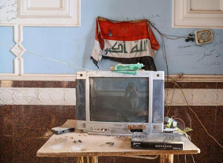 کاخ صدام پس از فرار داعش+تصاویر