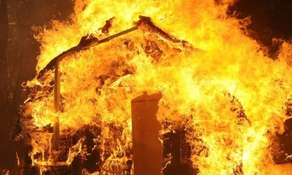 آتش سوزی در