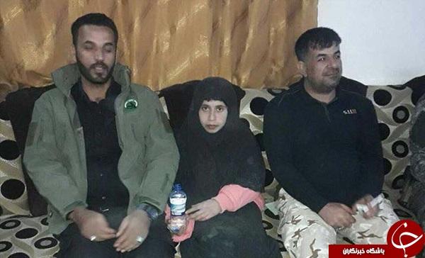 دختر 16 ساله از دست داعش نجات پیدا کرد + تصاویر