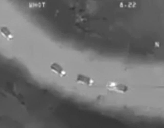 تکنولوژی شگفت انگیز بالگرد روسی برای ازبین بردن کاروان داعشی ها در شب+ فیلم