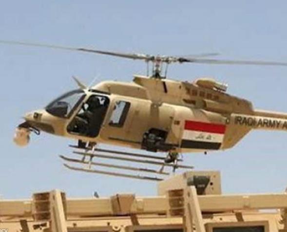 ۷ کشته بر اثر سقوط یک بالگرد عراقی در استان واسط