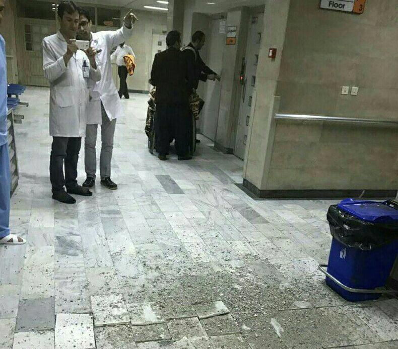 نخستین تصاویر از زلزله امشب عراق و ایران