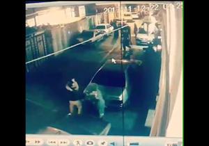 لحظه وقوع زلزلهی امشب از دوربین مداربسته در پیرانشهر +فیلم