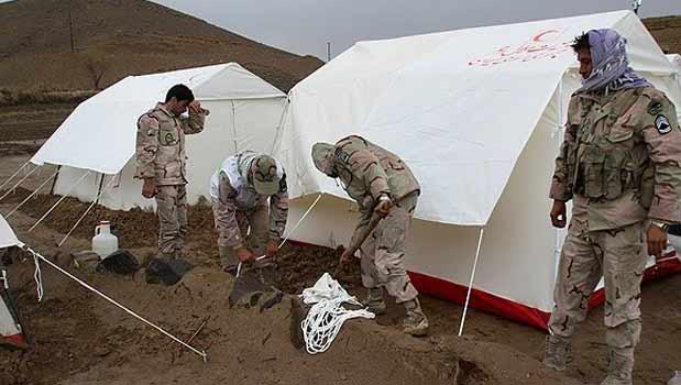 ارسال ۶۰۰ تخته پتو به منطقه زلزله زده قصر شیرین کرمانشاه