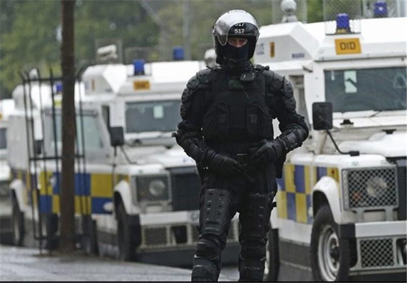 کشف یک بمب دست ساز در ایرلند شمالی