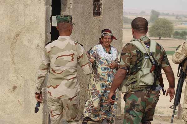 هنگامی که داعشیها به مادرشان هم رحم نکردند+تصاویر