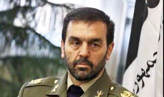 بازدید فرمانده ارتش از مناطق زلزله زده
