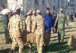اقدامات ارتش برای کمکرسانی به زلزلهزدگان سرپل ذهاب + تصاویر